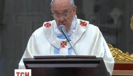 В Ватикане отслужили праздничную мессу