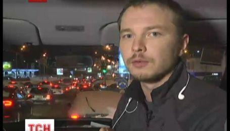 Ситуация на дорогах Киева улучшилась
