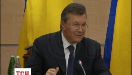 Янукович заявив, що кадри з резиденції в Межигір'ї були зроблені для його дискредитації