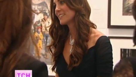 Кейт Миддлтон похвасталась роскошным платьем и уникальными драгоценностями
