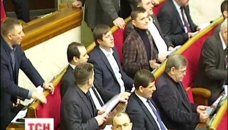 Українські парламентарі знову спробують урізати президентські повноваження