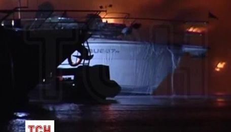 В Австралії згоріли три яхти вартість в 4 млн доларів