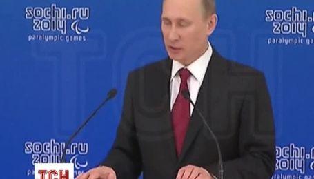 Путин открестился от событий в Крыму