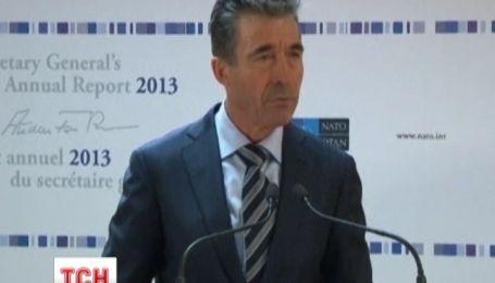 В НАТО считают, украинские события находятся среди главных в 2013 году