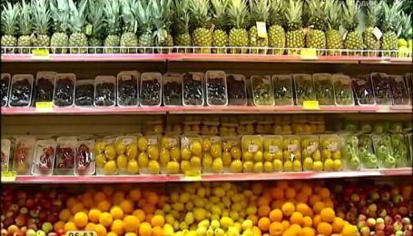 Перед Новым годом овощи и фрукты значительно подорожали