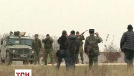 """Українських військових, які повернулися в """"Бельбек"""",  зустріли автоматними чергами"""