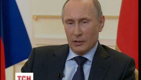 Путин считает Януковича действующим президентом, а майдановцев - фашистами