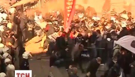 Протесты в Анкаре переросли в столкновения демонстрантов с полицией