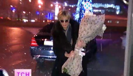 Патрисия Каас прилетела на концерт в Киев