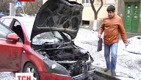 Активісту ужгородського Євромайдану спалили автомобіль