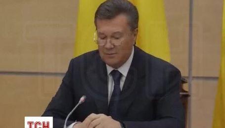 По мнению Януковича, демонстранты должны уйти с улиц