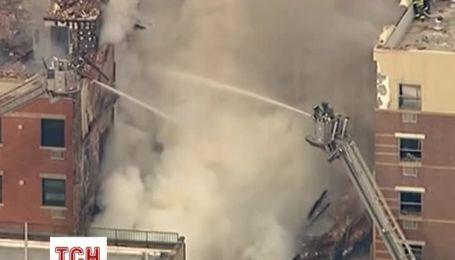 По меньшей мере 11 человек пострадали при взрыве дома в Нью-Йорке