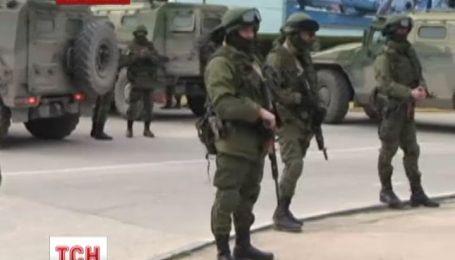 Вооруженные боевики требуют севастопольских пограничников сдаться