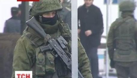В Крыму вооруженные военные признались, что они россияне