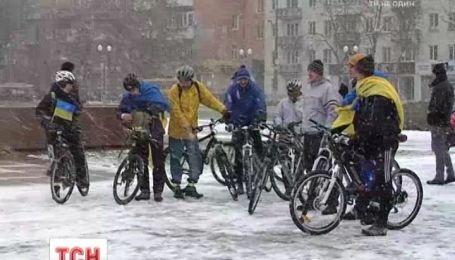 Вело та автопробіг пройшов у Херсоні