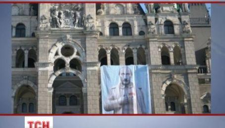 Чехи изобразили свое видение диктатуры Путина
