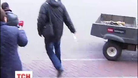 """Обслуживающий персонал """"убежал"""" из Межигорья"""