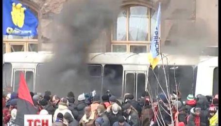 Беркуту амнистию, а украинцам ограничения прав на уличные акции