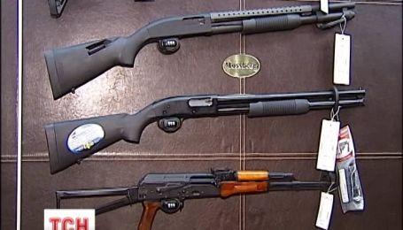 В Україні розпочався бум на вогнепальну зброю