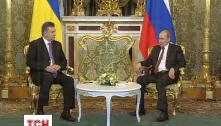 Янукович с Путиным обсудили свободную торговлю в СНГ