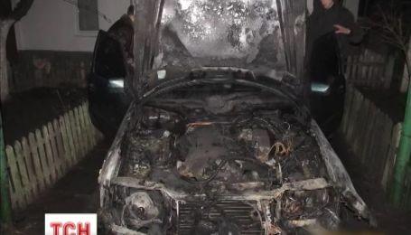 У Тернополі згоріло авто «свободівця»