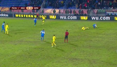 Анжи - Генк - 0:0. Відео матчу
