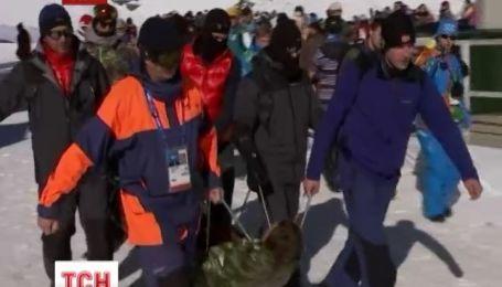 Через небезпечну трасу у Сочі, до лікарні потрапив норвезький спортсмен Тоштейн Хоргмо