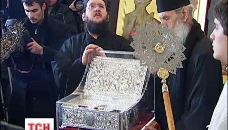 В Киево-Печерской Лавре приехали дары волхвов