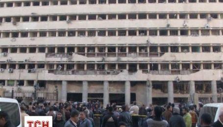 В центре Каира раздался уже второй мощный взрыв