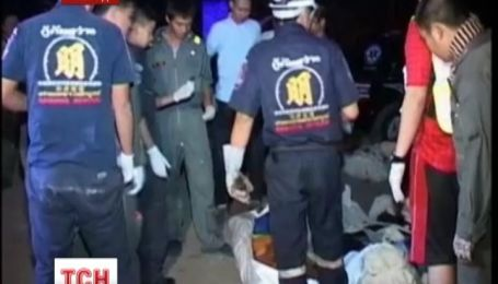 Более трех десятков человек погибли в ДТП в Таиланде