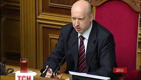 Турчинов заявляет, что украинцы не будут воевать в Крыму