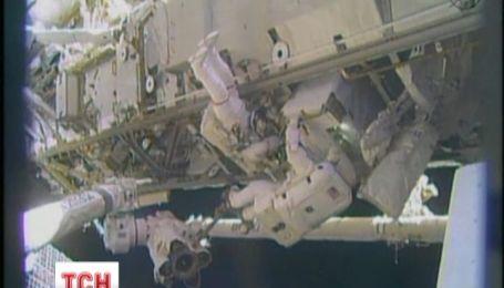 Рождество на орбите провели двое американских астронавтов