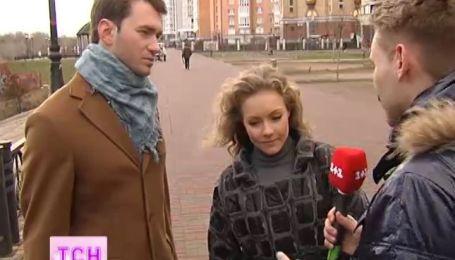 Алена Шоптенко и Дмитрий Дикусар вернулись в Киев