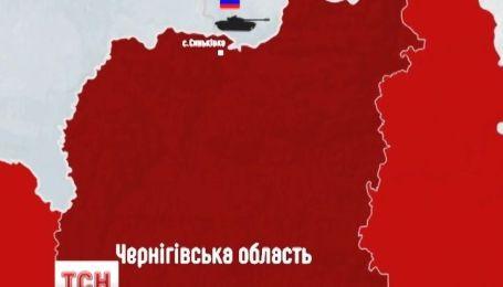 Російські танки помітили на північному кордоні України