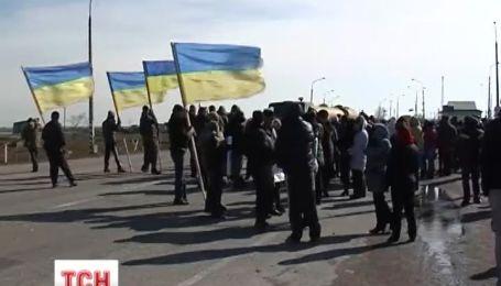 Чонгар стал буферной зоной между Украиной и Россией