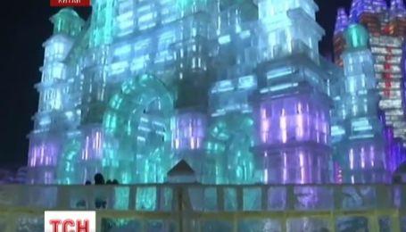 У китайському місті Харбін відкрили тридцятий крижаний фестиваль
