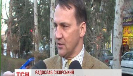 Сикорский: Янукович сделал ошибку, когда убежал