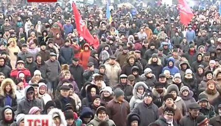 Тернополяне массово едут в Киев