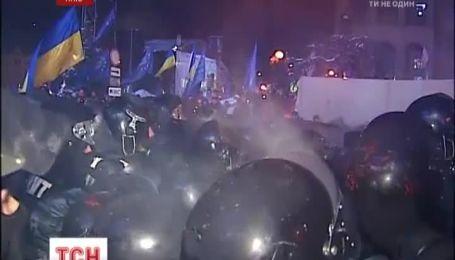 На Евромайдан приходят все новые митингующие