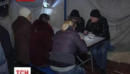 На Донетчине спасатели развернули мобильные пункты обогрева