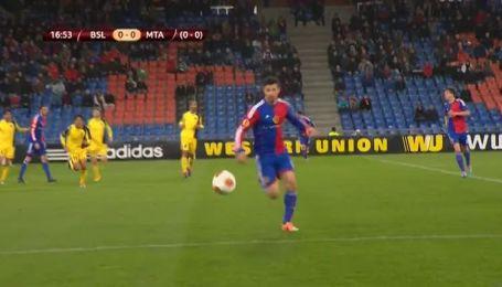 Базель - Маккабі - 1:0. Відео голу Штокера