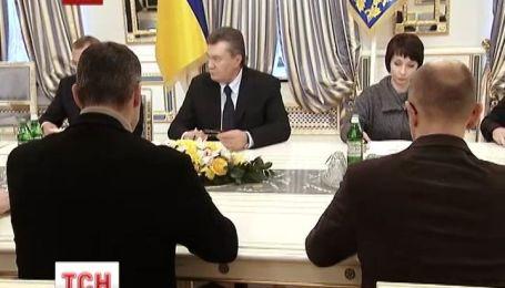 Янукович провів нові перемовини з опозицією
