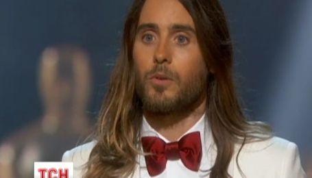 Голливудские звезды не забыли об Украине и на «Оскаре»