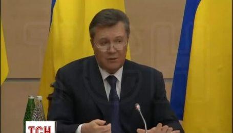 Янукович рассказал, как попал в Россию и почему остается в Ростове-на-Дону