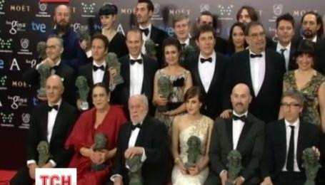 В Испании вручили Национальную кинопремию «Гойя»
