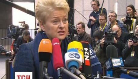 Президент Литвы назвала происходящее в Украине пересмотром послевоенных границ