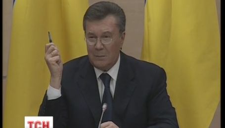 Янукович снова будет говорить с украинцами из Ростова
