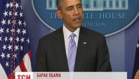 Обама пригрозил России через военное вмешательство в Украину