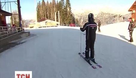 Путін в Сочі покатався на лижах з Медведєвим і пообіцяв чергову перевірку