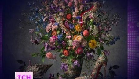 Туфлі та сумки Крістіана Лабутена прикрасили картини відомих художників